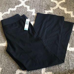 NWT black dress pants size 9/10